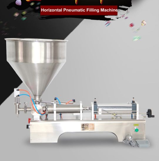 Paste Filling Machine Machine Semi Semi Auto Paste Filling Machine Pneumatic Piston Filler