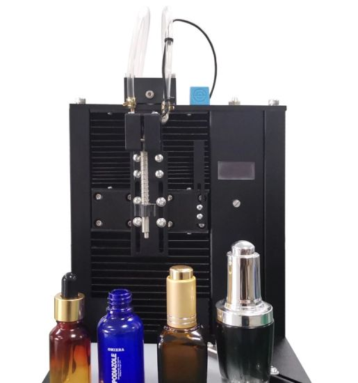 Good Quality Small Portable Perfume Filling Machine Sem- Automatic Fragrance Emulsion