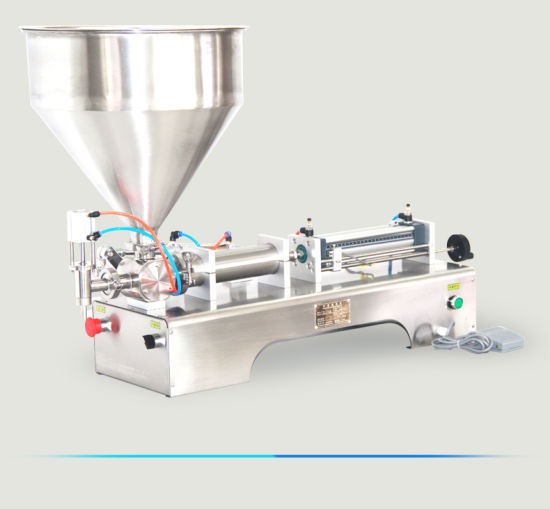 Customized Semi Automatic Manual 304 Stainless Steel Food Paste Filling Machine Price