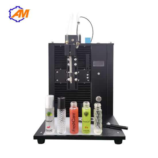 Small Automatic Perfume Emulsion Essential Oil Ampoule Filling Machine Free Shipping Ce Standard
