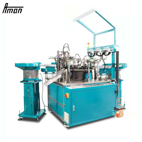 Automatic Disinfectant Spray-Head Valve Assembly Machine