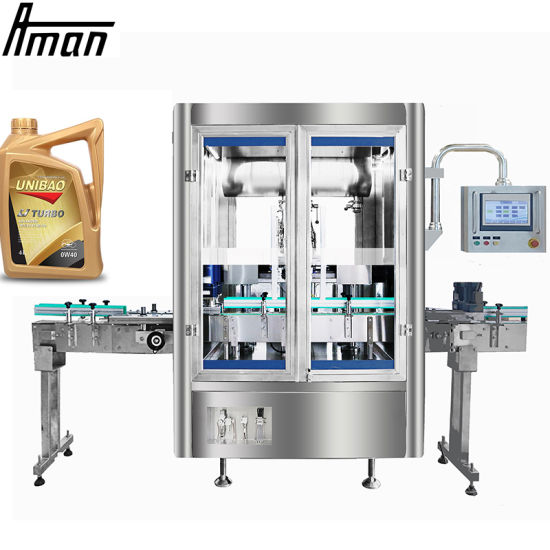 Automatic Lubricating Lubricant Lubrication Lube Motor Oil Bottle Weighing Filling Machine