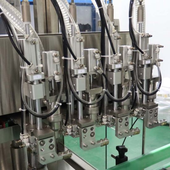 PLC Control Automatic Laundry Detergent/Hand Sanitizer/Liquid Soap Filling Machine for High Viscosity Filling Machine