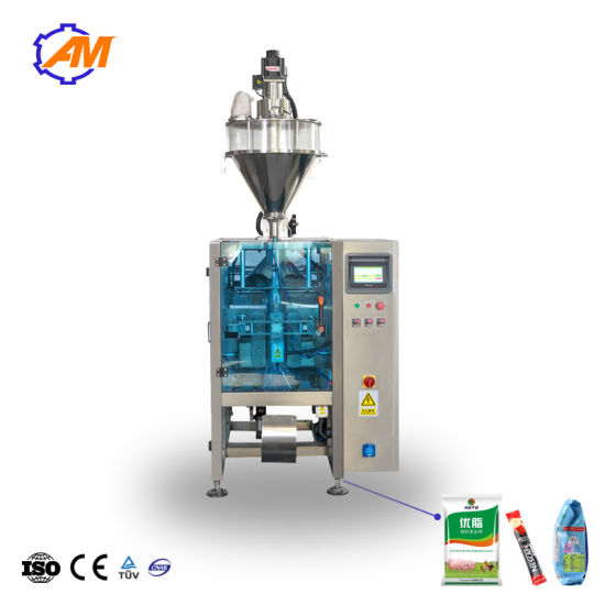 Automatic Seasoning Powder / Milk / Cocoa / Wheat Flour / Washing Powder / Rice /Coffee Powder Filling Packing Packaging Machine Machinery