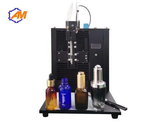 Automatic Cosmetic Skincare Cream Deodorant Cologne Perfume Glass Bottle Capping Machine Filling Machine Production Line