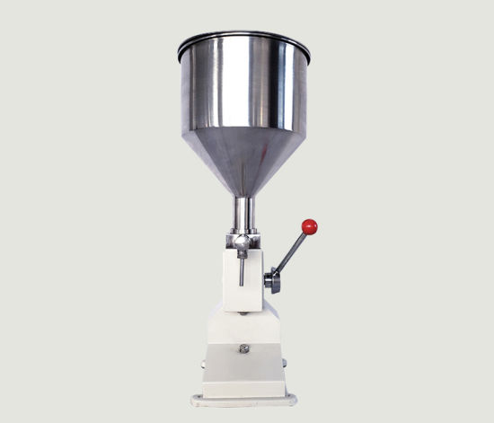 A03 Pneumatic Filler 5-50ml Liquid and Lip Gloss Nail Polish Filling Machine Liquid and Paste Filling Machine