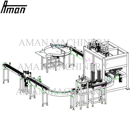 Automatic Paint Bucket Filling Sealing Capping Machine